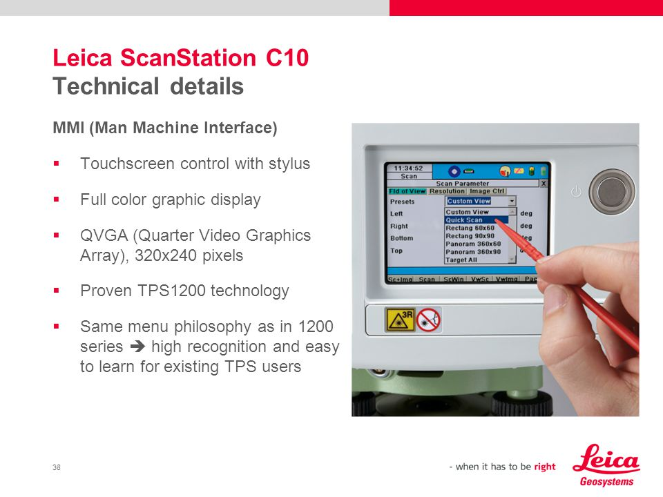 Leica ScanStation C10 The All-...