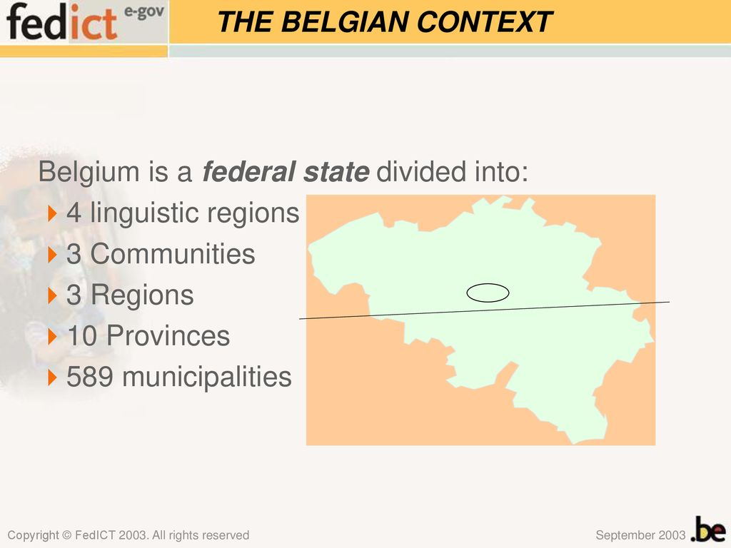 Towards one virtual electronic government in Belgium - ppt