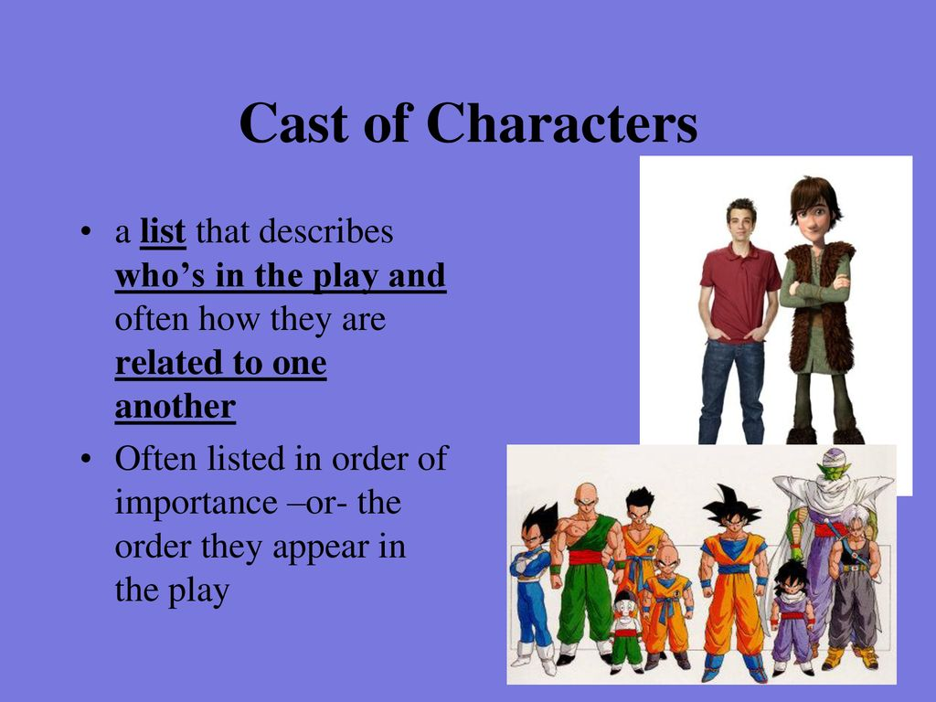 4 Cast