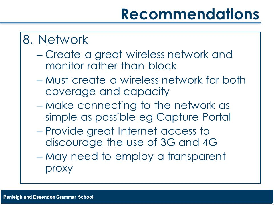 Recommendations Network