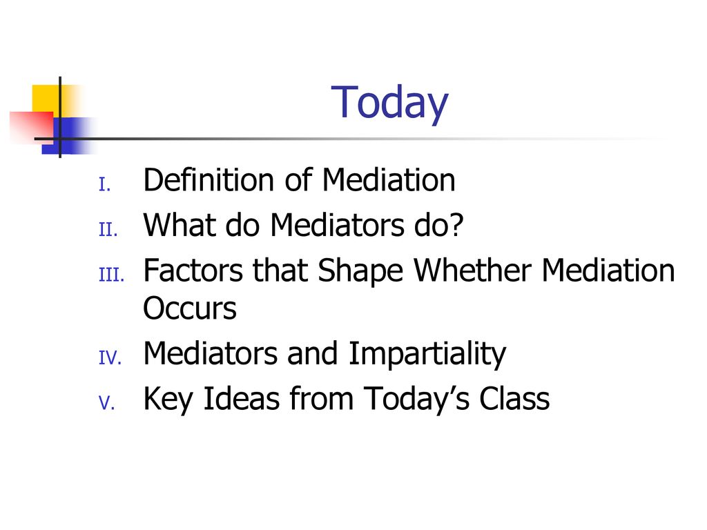 mediation class ppt download