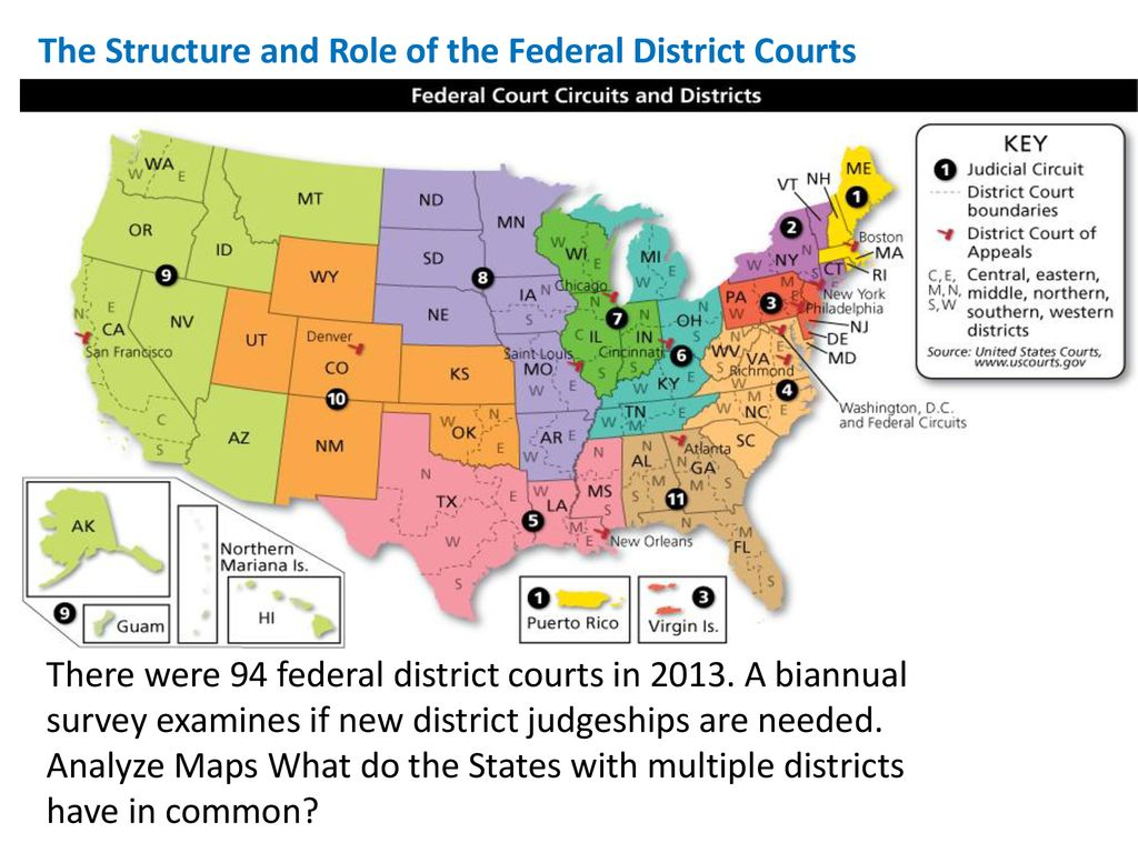 Map Of New York District Courts.7 3 The Inferior Courts And The Special Courts Ppt Download