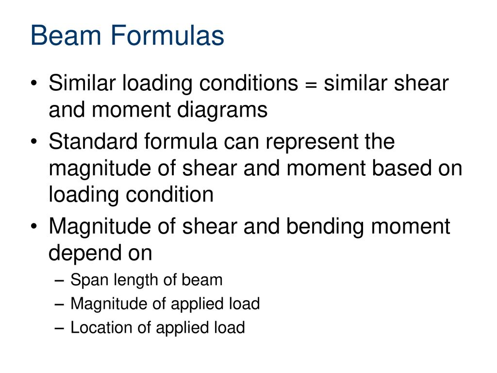 Beam Formulas Civil Engineering And Architecture Ppt Download Transcribed Image Text Draw The Shear Bending Moment Diagrams 3