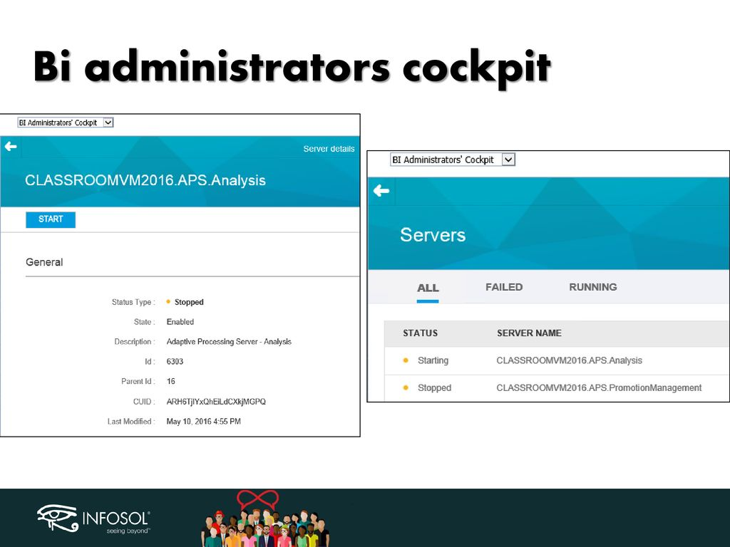 BusinessObjects 4 2 SP3 What's new for System Administration in CMC