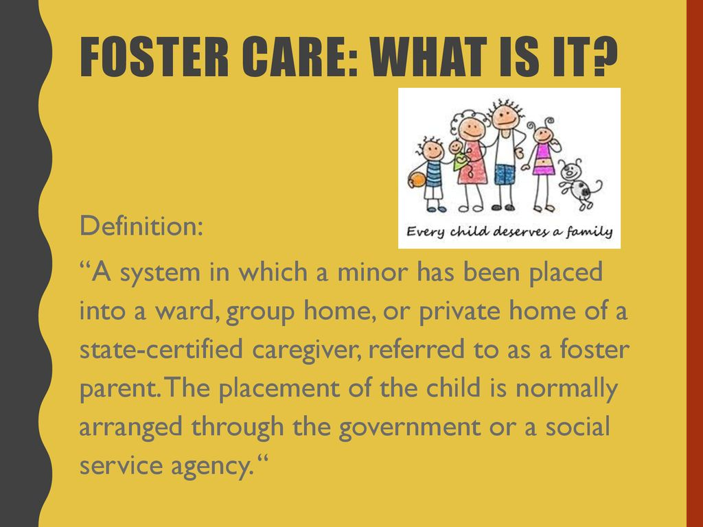 foster care: facts & importance - ppt download
