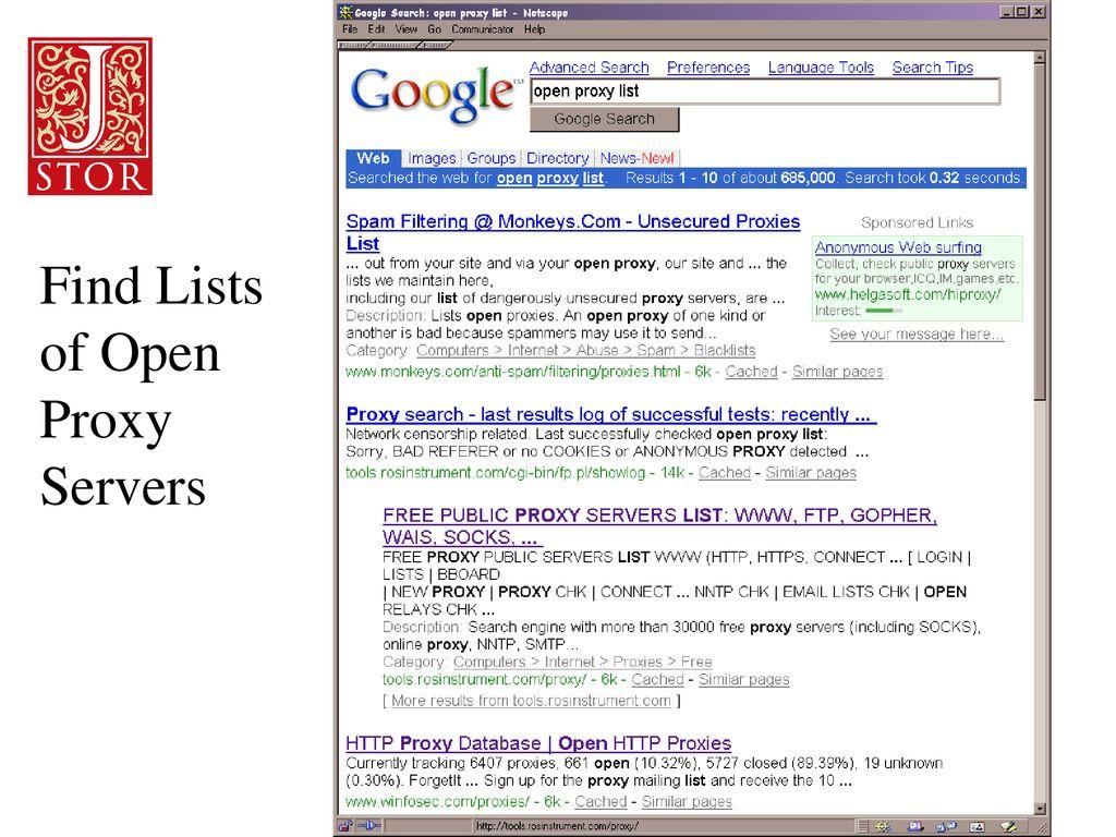 Google Free Proxy