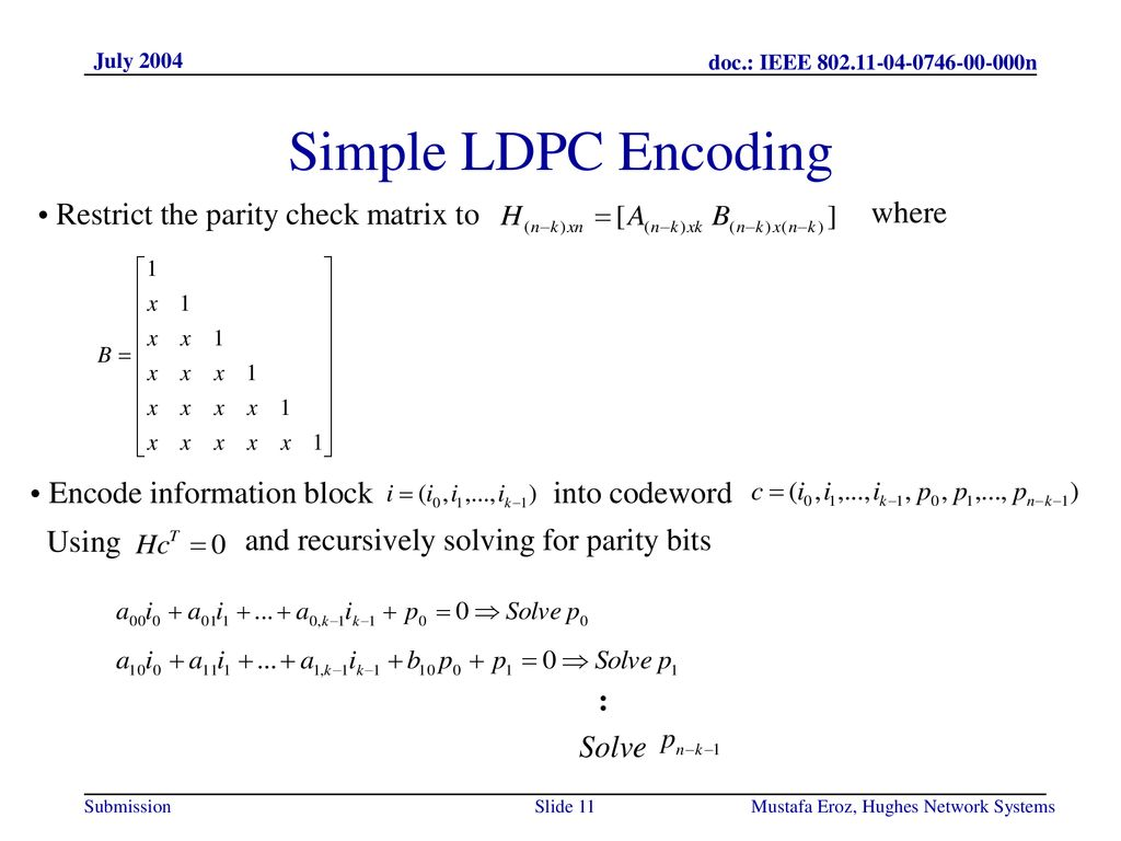 Physical Layer Approach for n - ppt download