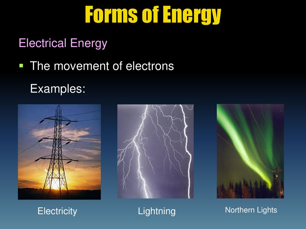 forms of energy. - ppt download