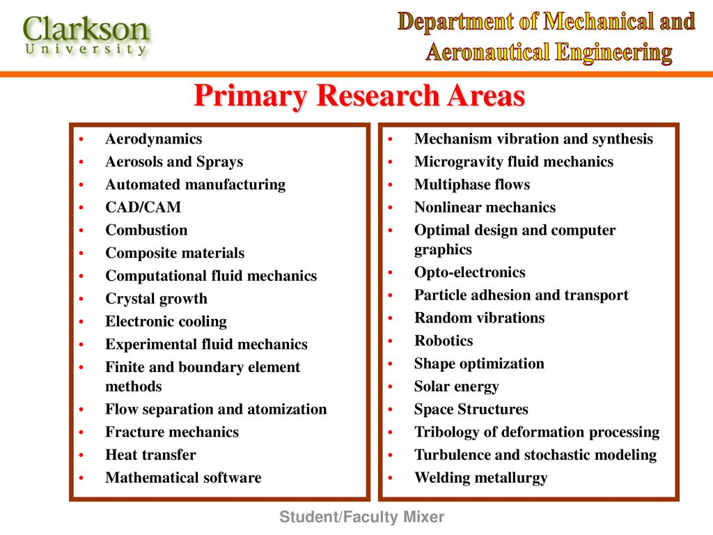 DEPARTMENT OF MECHANICAL AND AERONAUTICAL ENGINEERING - ppt download