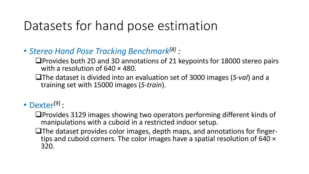 Learning to Estimate 3D Hand Pose from Single RGB Images[1] - ppt