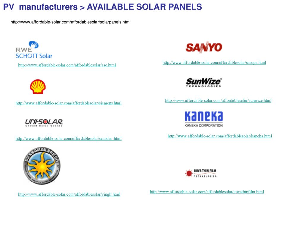 Power Supply Group Presentation March Ppt Download Kaneka Solar Panel Wiring Diagram 27 Pv Manufacturers
