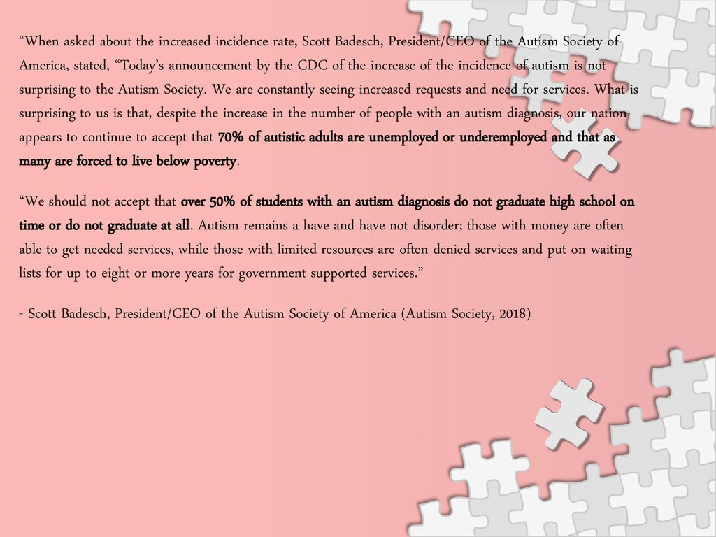 Prevalence Of Autism In Us Remains >> Tammy Mabey And Beth Howard Ppt Download