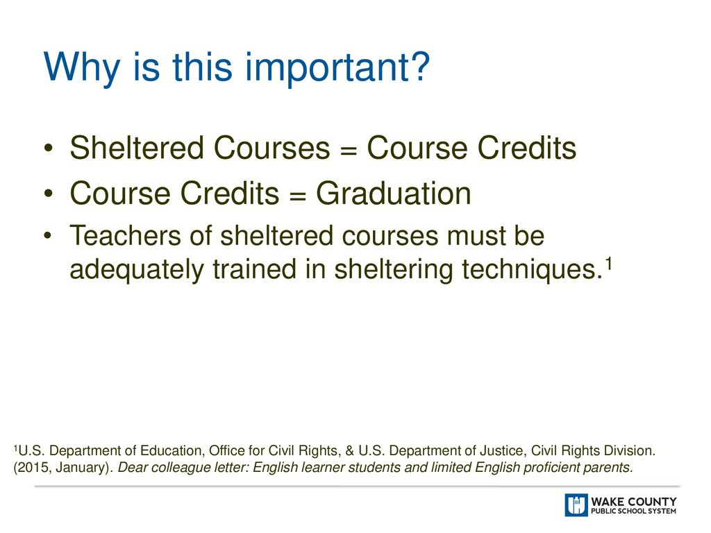 Sheltered Courses for English Learners - ppt download