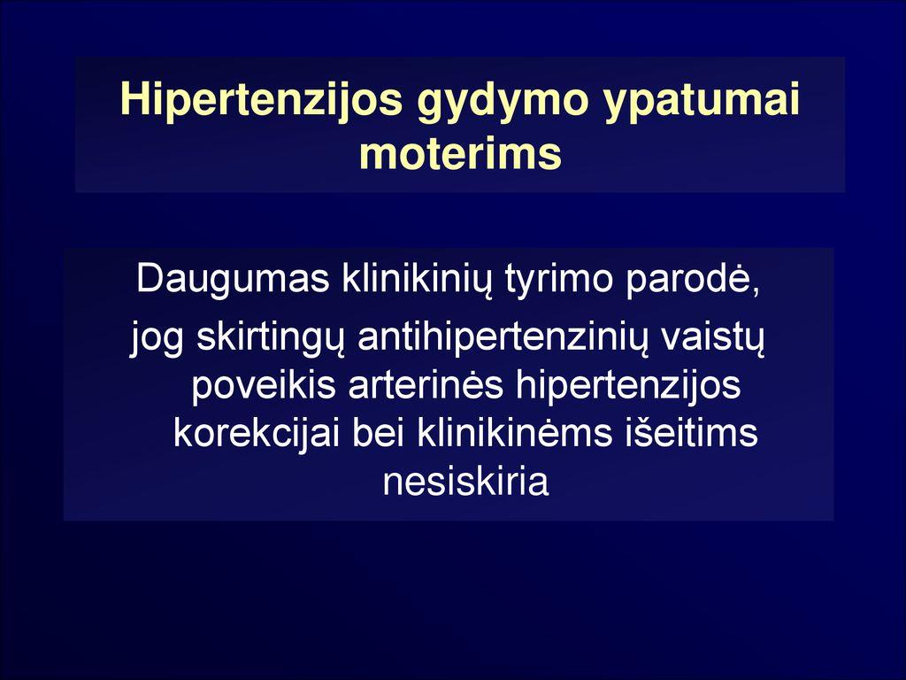 hipertenzijos gydymas 60 metų moterims)