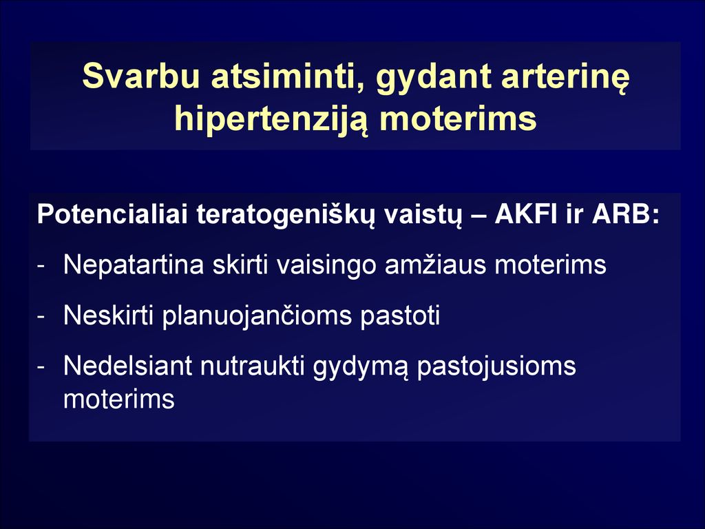 lengvos hipertenzijos profilaktika)