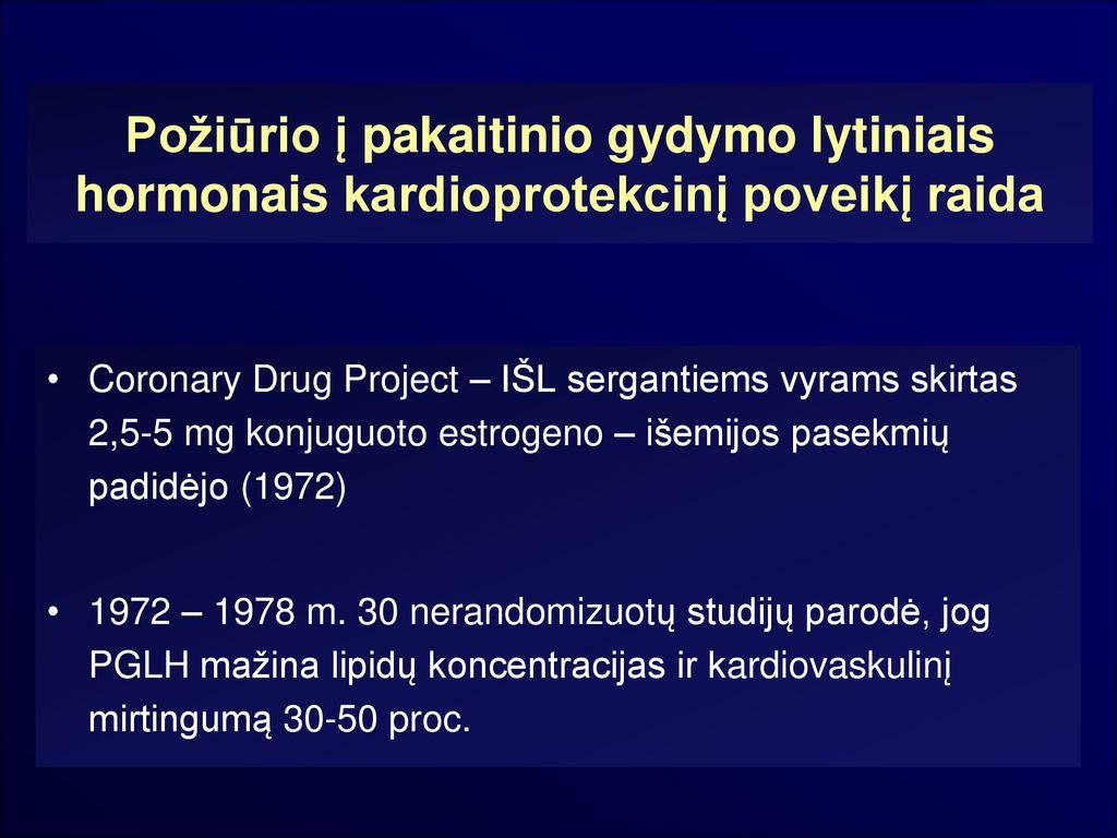 hipertenzijos gydymas hormonais)
