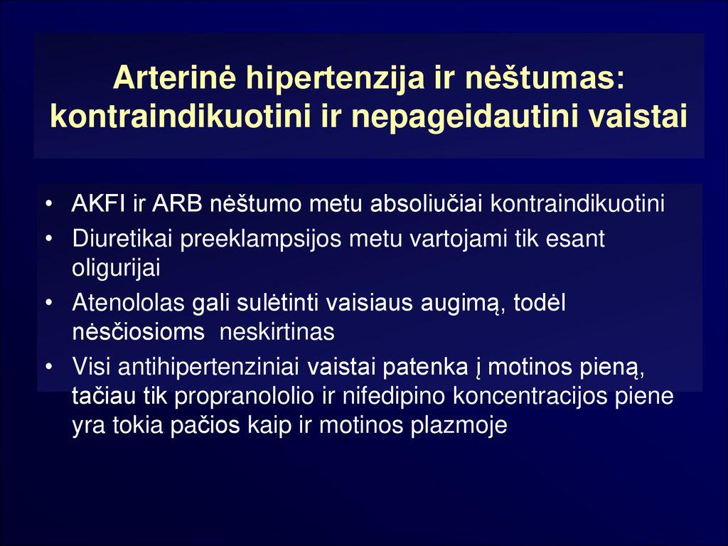 proteinurija esant hipertenzijai