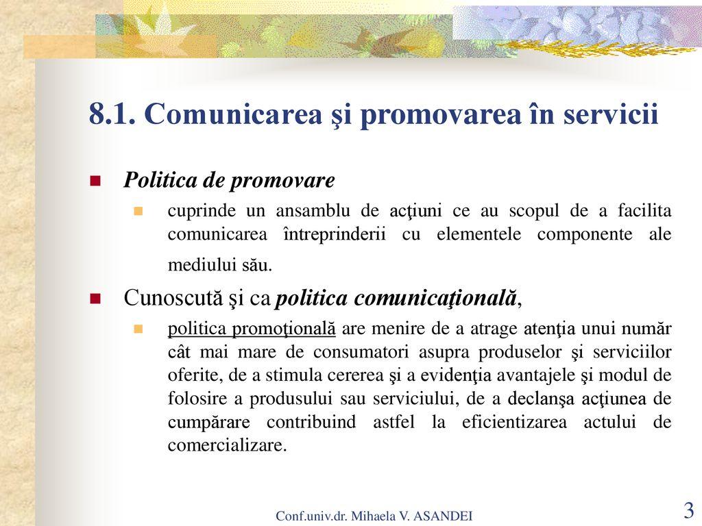 Politica de promovare