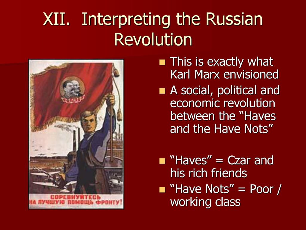 karl marx have and have nots