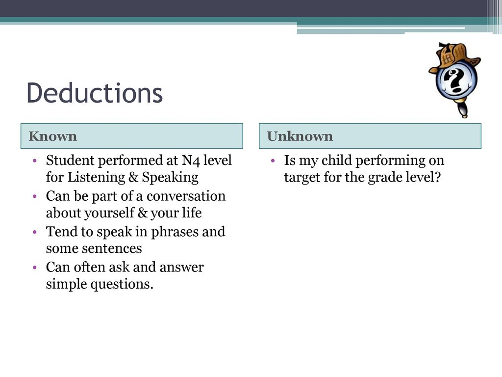 Using Proficiency Data in Working with ALL Stakeholders
