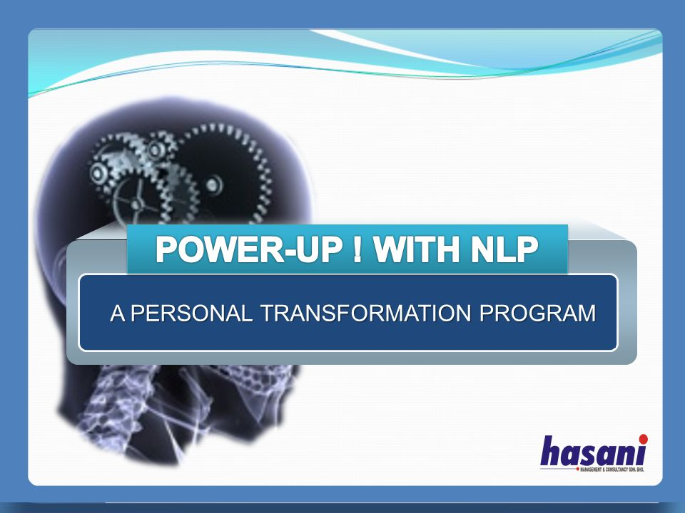 A PERSONAL TRANSFORMATION PROGRAM