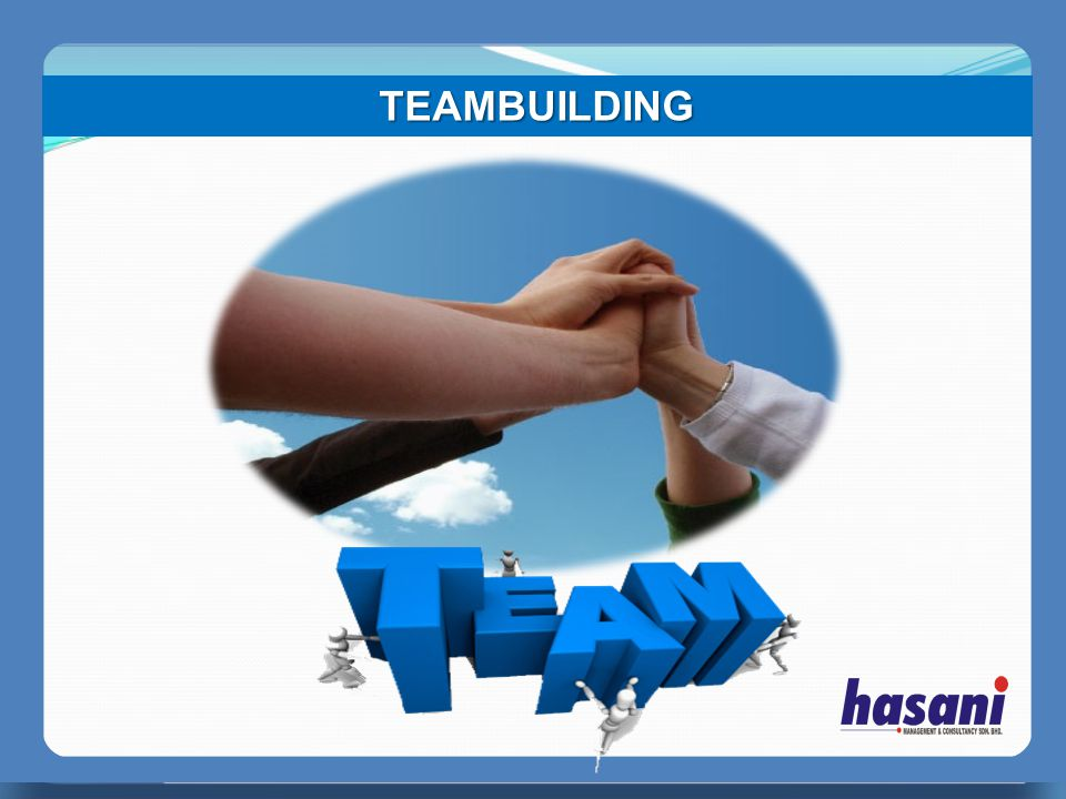 TEAMBUILDING PERFECT MANAGER