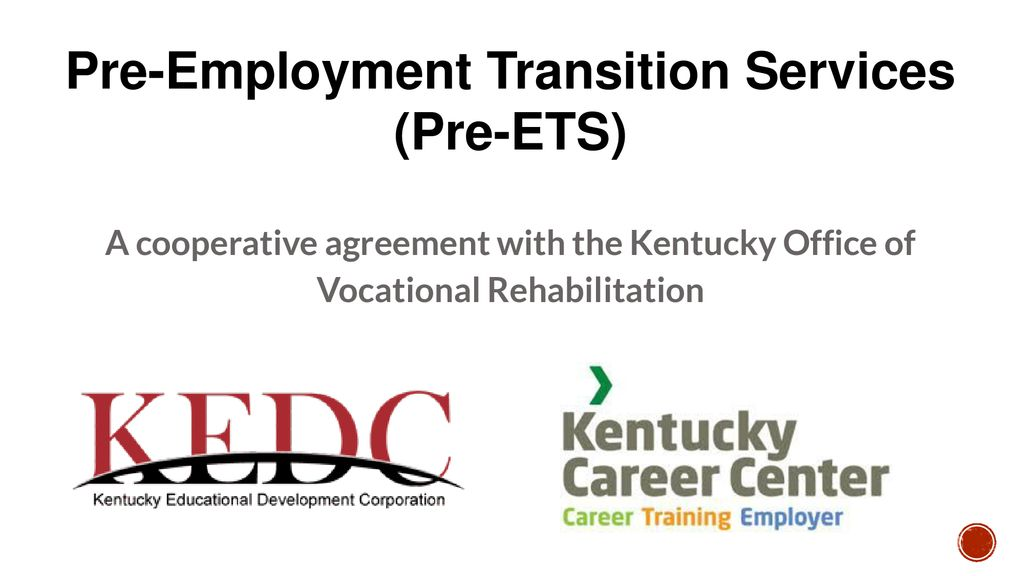 Pre Employment Transition Services Ppt Download