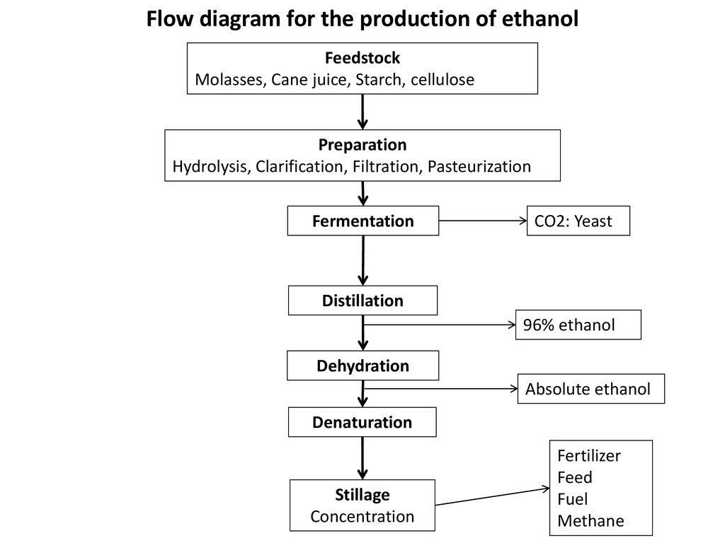 Biological Fuel Generation Ppt Download Process Flow Diagram For Ethanol Production From Molasses The Of