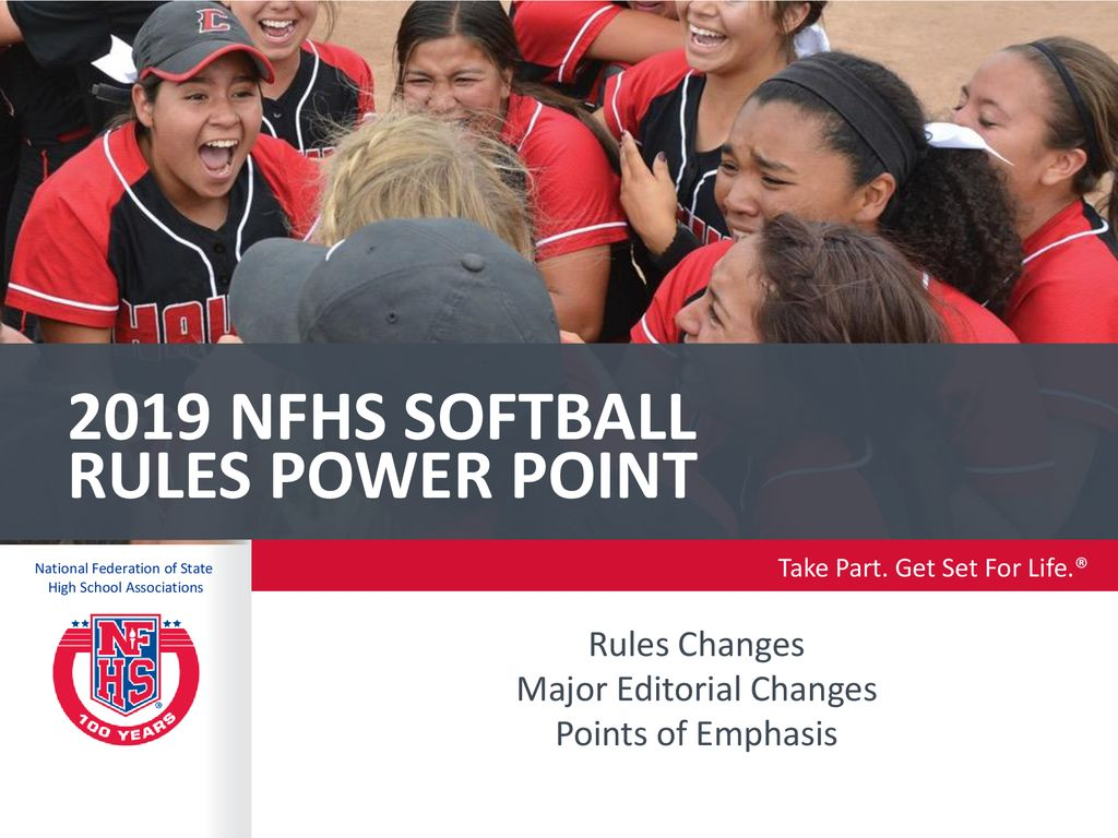 Nfhs Softball Rule Book