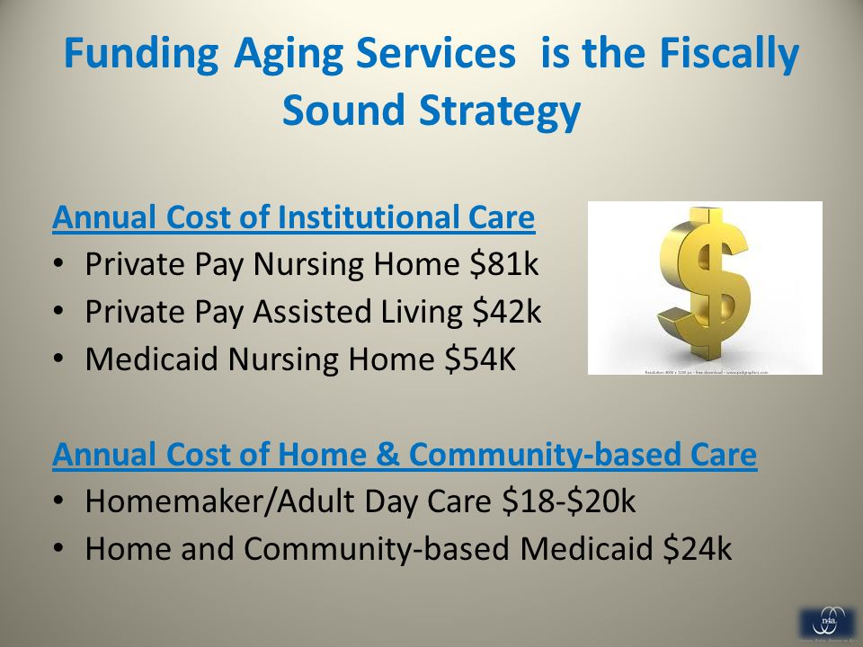 Funding Aging Services is the Fiscally Sound Strategy