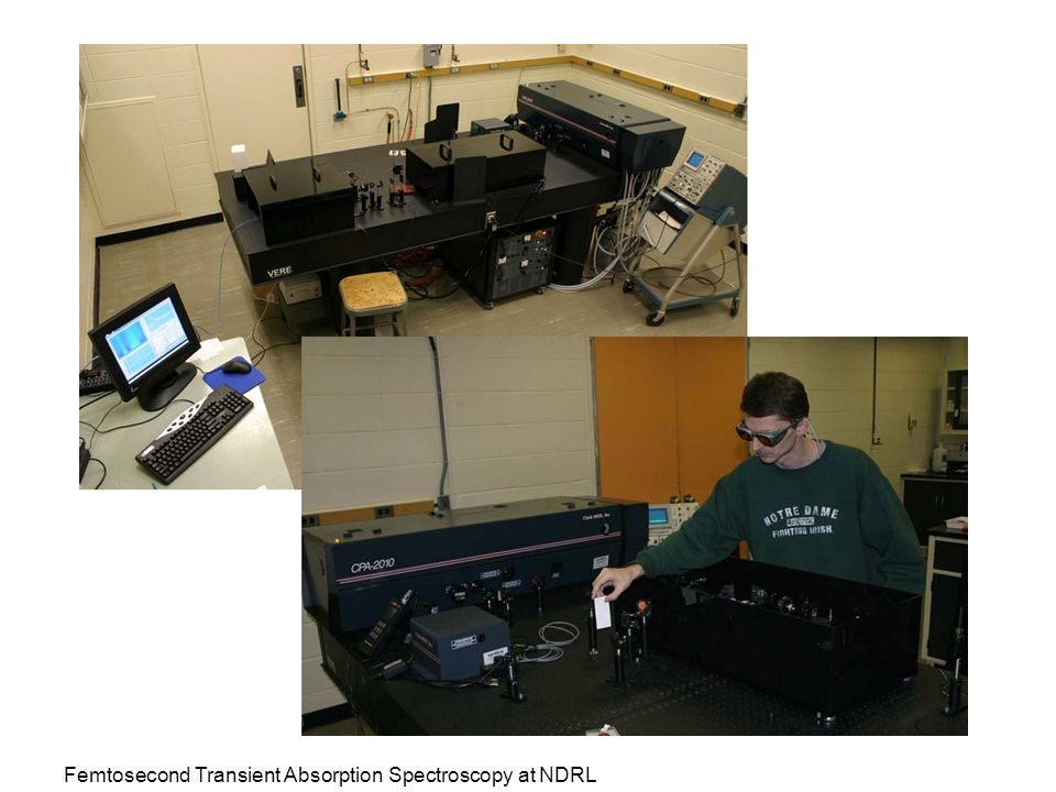 Femtosecond Transient Absorption Spectroscopy at NDRL