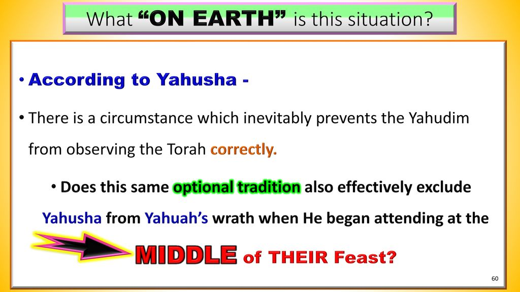 Yahusha's Contempt for the Lunar Based Calendar - ppt download