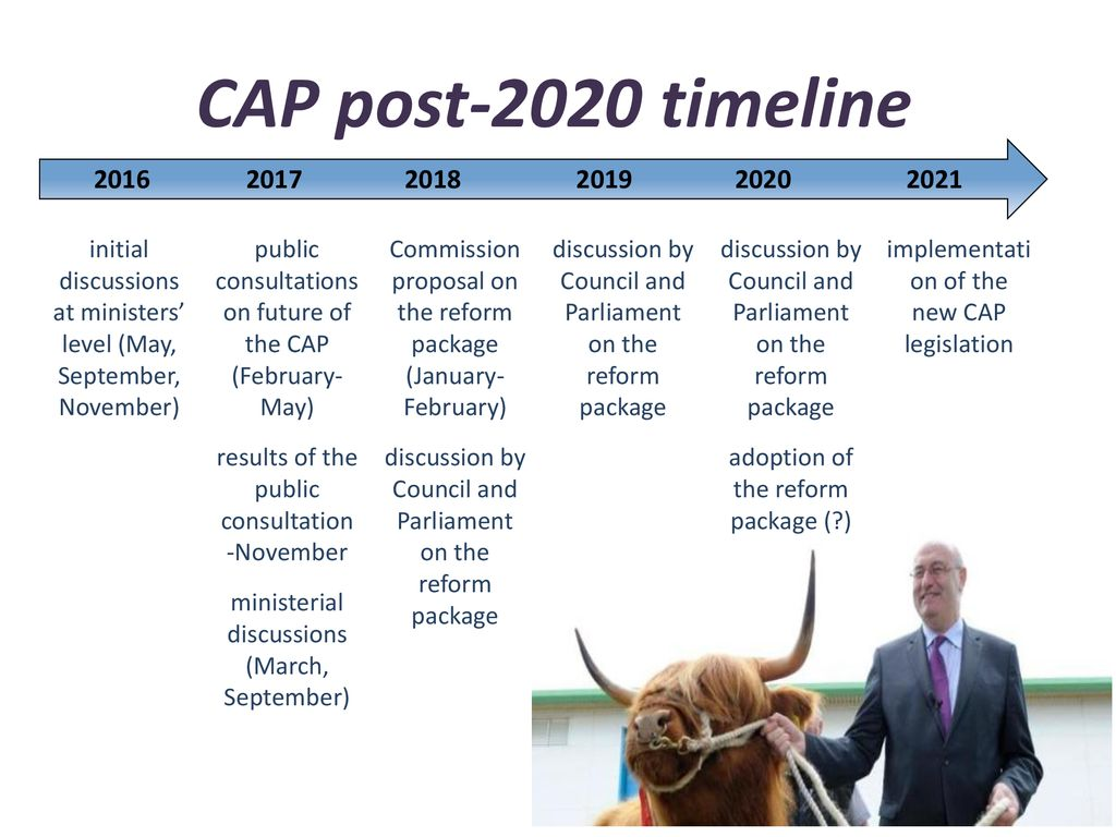 Future of CAP and tendencies in global agriculture markets