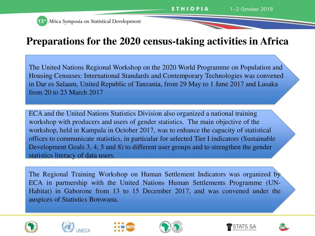 2020 Round of Census in Africa: Progress and Challenges