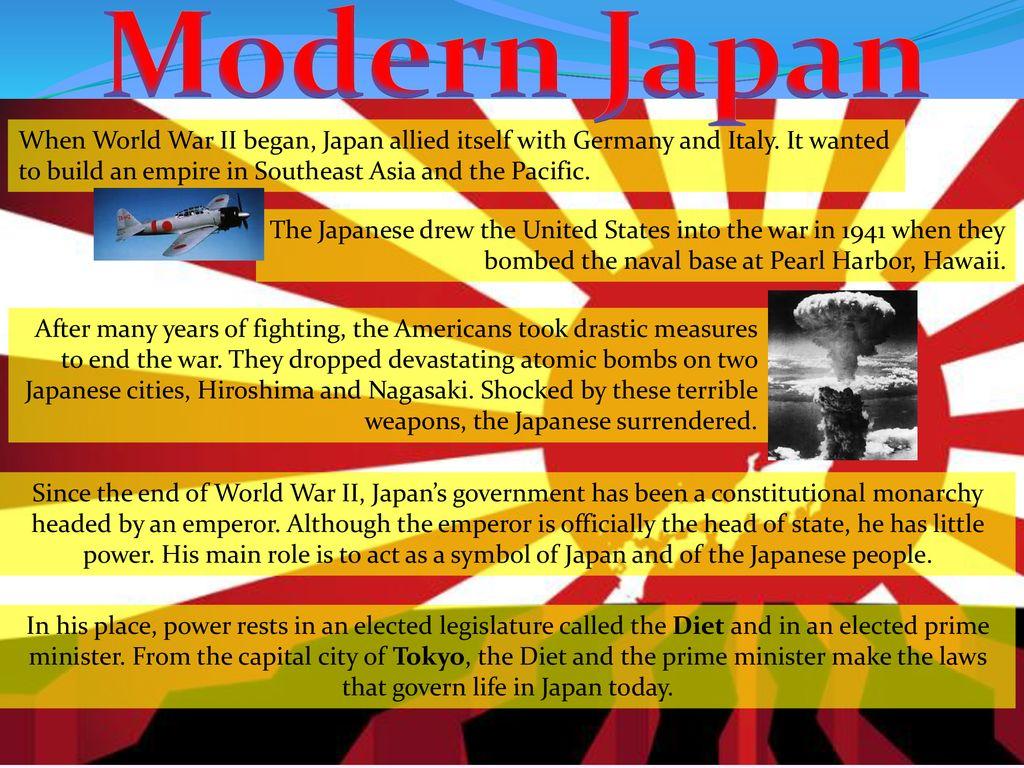 Ancient & Modern Japan  - ppt download