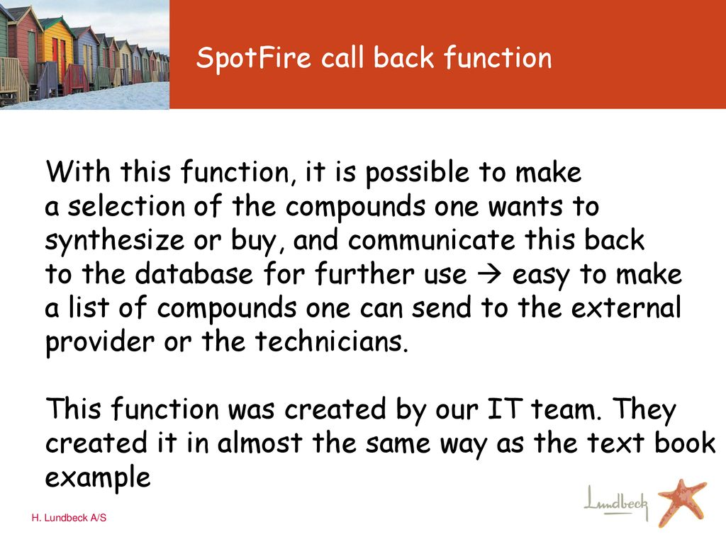 Chemical Space Navigation using SpotFire DecisionSite - ppt download