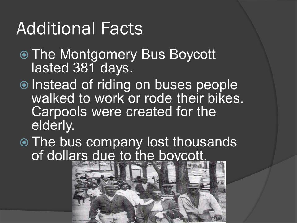 Montgomery Bus Boycott Ppt Video Online Download
