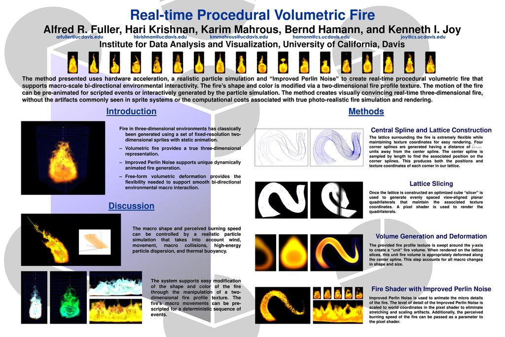 Real-time Procedural Volumetric Fire - ppt download