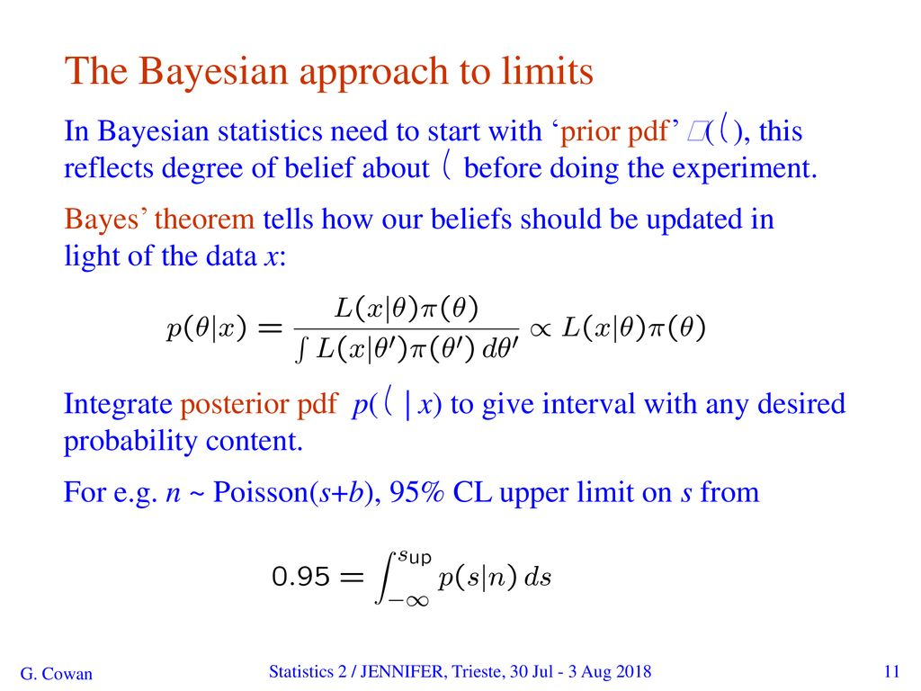 Statistical Methods for Particle Physics (II) - ppt download