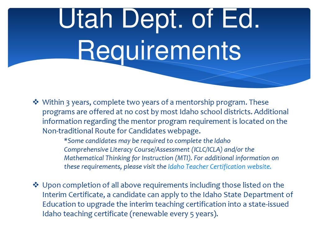 Program Overview For Idaho Ppt Download
