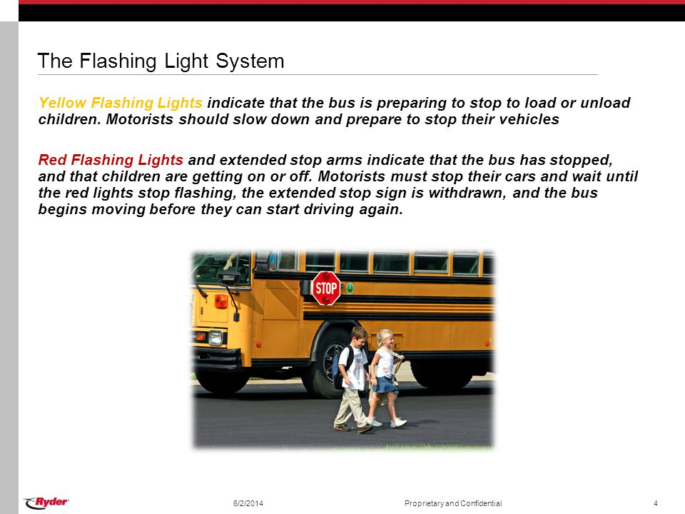 The Flashing Light System