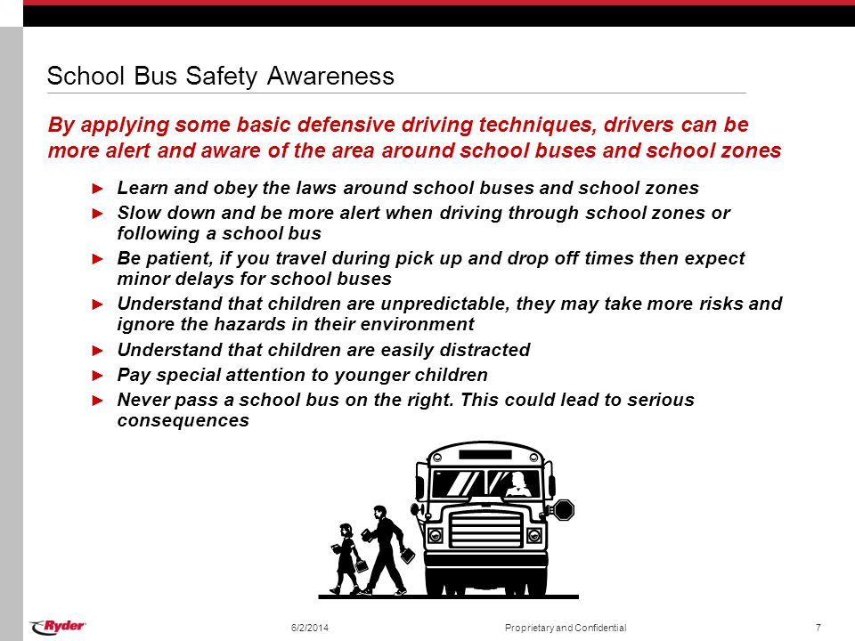School Bus Safety Awareness