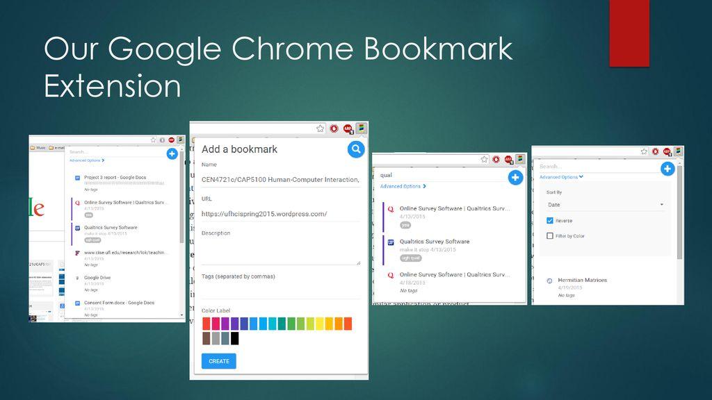 Google Chrome Bookmark Extension - ppt download