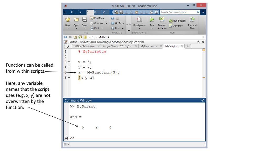 Functions In Matlab  - ppt download