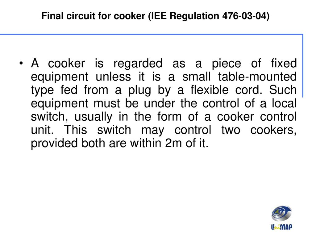 Chapter 2 Final Circuit Load Estimation Ppt Download Wiring Regulations Cooker Switch For Iee Regulation