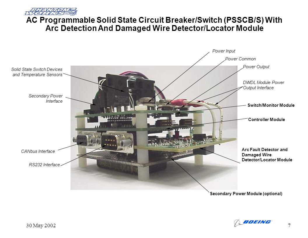 Phantom Works - HSV Arc Fault Programmable Solid State Circuit ...