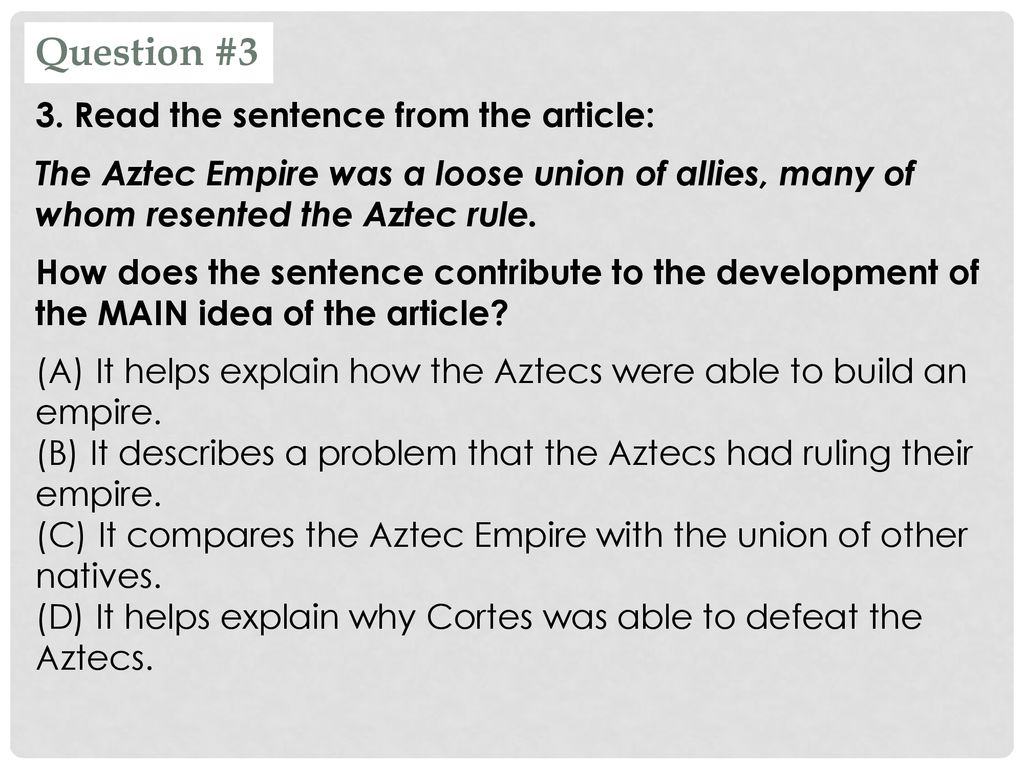 aztec in a sentence