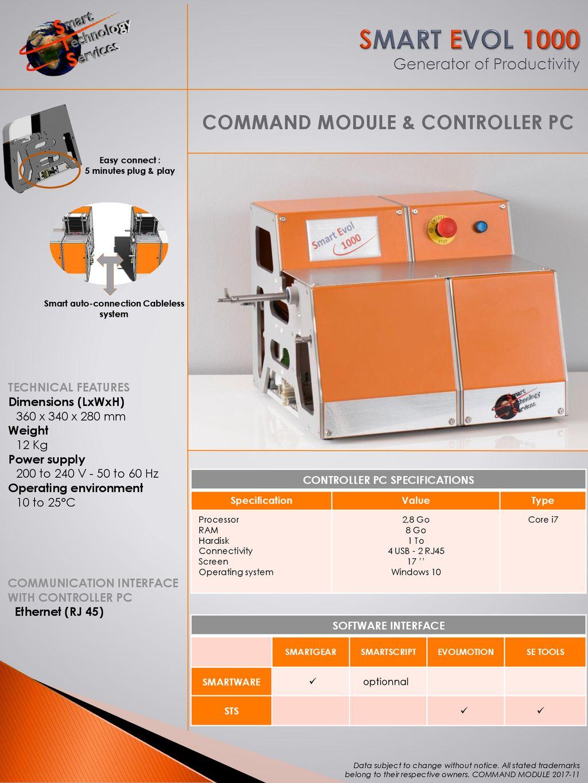 SMART EVOL 1000 Generator of Productivity - ppt download