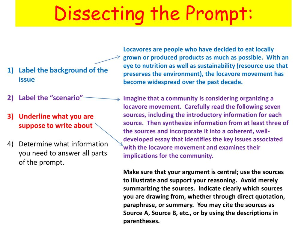 synthesizing sources keep in mind  ppt download  dissecting