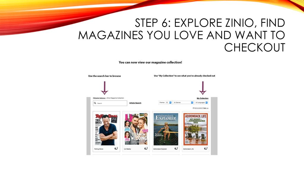 Zinio How to Sign Up and Checkout Magazines on Zinio Using a